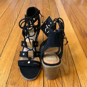 dv | NWT Lace-Up Heels